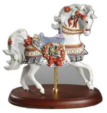 Lenox 2001 Annual Christmas Carousel Horse New In The Box