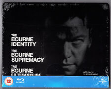 THE BOURNE TRILOGY BLU-RAY STEELBOOK NEU & OVP SEALED DEUTSCHER TON PLAY.COM