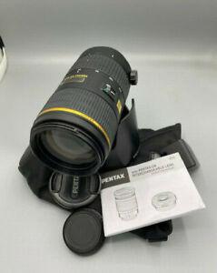 PENTAX smc PENTAX-DA * 60-250 mm f4 ED - gebraucht und voll funktionfähig