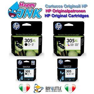 Cartucce Originali HP 305 305XL Nero Colore Deskjet 2710 4110 ENVY 6010 6020