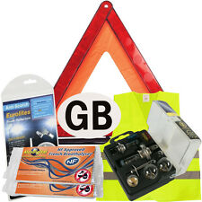 New Euro European Travel Kit Legal & Recommended Items For Driving In France