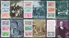 United States 2624-2629 sheets,MNH.Michel Bl.25-30. Voyages of Columbus,1992.