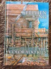 THE COLORADO KID Stephen King TRADE HC (Chadbourne) 100 COPY EDITION UK IMPORT