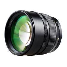 New Zhongyi Speedmaster 85mm F/1.2 Full Frame Camera Lens for Canon EF EOS Mount