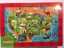 USA Matchbox Puzzle - by Crocodile Creek -=NEW=-