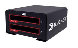 Blackjet VX-2SSD USB 3.1 Gen 2 Type-C Dual SSD Media Dock #BJ-0200-R01 RAID JBOD