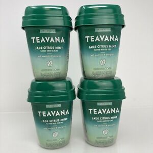 Teavana Tea Starbucks Jade Citrus Mint 15 Satchets Each Green X4 - BB 03/2020