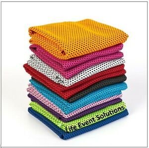 Bulk Sport Cooling Towels For Gym Training Outdoor Sports Activities Fundraising