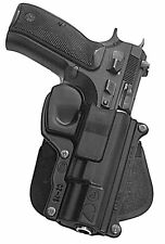 fobus - CZ75 -fits  75/75B - old version /85,  9mm.PADDLE HOLSTER