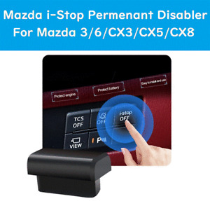 Mazda i-stop Disable Deactivate Permanently Off istop OBD 3 6 CX3 CX5 CX8