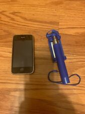 AT&T 8G Apple iPhone 3G in good condition with Selfie Stick