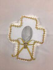 Baptism communion white cross favor bags 24 pieces