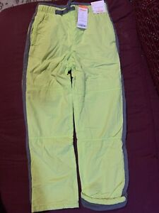 New Gymboree Very Nice Warm Boys Pants Size 8 Color Apple Green