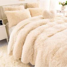 160*200cm Super Soft Throw Blanket Bed Long Shaggy Cozy Fluffy Faux Fur Sheet