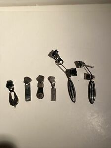 lot of 6 HD vtg Zipper Pull jewelry clothing crafts motorcycle cycle HARLEY 9919