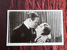 RALPH GRAVES - FAY WRAY - FILM PARTNERS POSTCARD - #P19