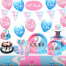 147pcs Girl or Boy Gender Reveal Banners Tableware Balloons Party Supplies Decor