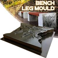 Paving Cement Mold Stone Garden Bench Leg Mould Concrete  Railway Patio Path