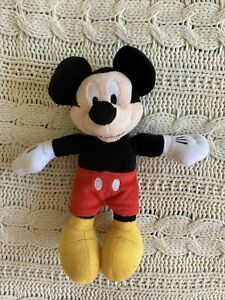 Disney Mickey Mouse Plush Toy 10in tall excellent condition