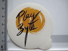 Aufkleber Sticker Play - Byte Bluebyte Software Puzzle Games Action (5838)