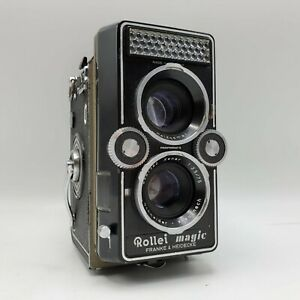 Rollei Magic TLR 120 Roll Film Camera - Schneider Kreuznach Xenar 75mm F3.5 Lens