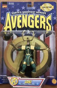 Toybiz Vintage Marvel Avengers Loki Action Figure Earth's Mightiest Heroes