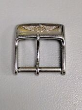 Original Breitling Stainless Steel Tongue Buckle 14mm