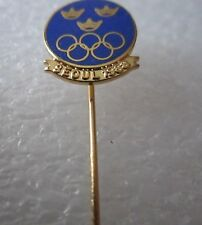 1988 SEOUL Olympics SWEDEN NOC  pin badge