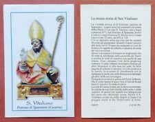 Santino Holy Card: S. San Vitaliano - Sparanise