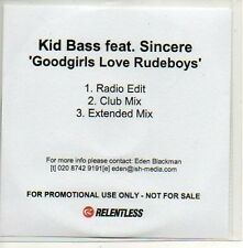 (478D) Kid Bass, Goodgirls Love Rudeboys - DJ CD