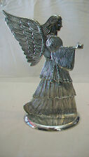 SILVER PLATED ANGEL CANDLE HOLDER FROM I.S. CO. FROM 1994