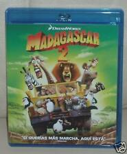 MADAGASCAR 2-BLU-RAY-NUEVO-NEW-DREAMWORKS-COMEDIA-AVENTURAS-FAMILIAR-ANIMACION