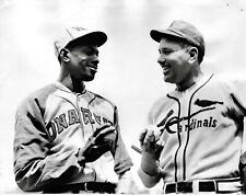 Dizzy Dean Satchel Paige Cardinals ,Great Image 8x10