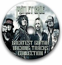MOTLEY CRUE ROCK GUITAR BACKING TRACKS COLLECTION JAM TRACKS