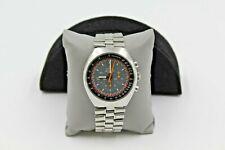 Vintage Omega Speedmaster Mark II Chronograph Stainless Steel Men's Wristwatch