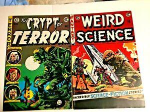Russ Cochran E.C. Classic Reprints 1973 10 issues #1-9,11 all Near Mint
