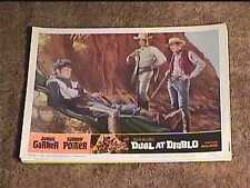 DUEL AT DIABLO 1966 LOBBY CARD #8