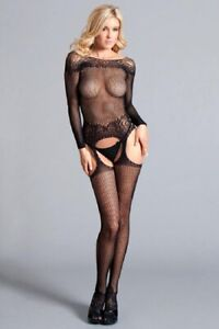 Be Wicked Soft Secrets Body Stocking - BWB113