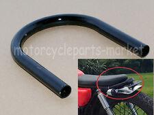 Black Rear Motorcycle Cafe Racer Tracker End Brat Style Sest Frame Hoop Loop