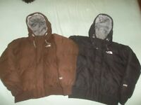The North Face Gotham Goose Down Parka TNF Coat Soft Bomber Jacket Medium WARM