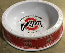 OSU DOG BOWL ~ Ohio State University 9.5 Inch for Food/ Snacks/ Treats/