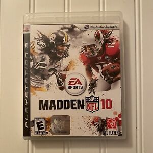 Madden NFL 10 PS3 (2009, PlayStation3, EA Sports) Complete Troy Polamalu