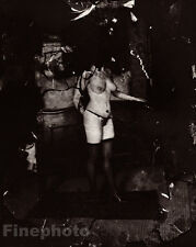 1912 New Orleans Nude Female Prostitute E.J. Bellocq Louisiana Vintage Photo Art