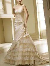 TOP Brautkleid Hochzeitskleid Ballkleid Abendkleid Rot Kleid Partykleid 36 B239R
