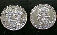PANAMA / 1953 - 1/2 BALBOA / SILVER COIN