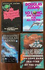 4 Douglas Adams-Restaurant-So Long-Teatime-Salmon-3 HC & 1PB- Pre-owned