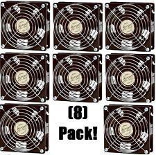 "(8) Achla F-11 Minuteman 4.75"" x 4.75"" x 1.75"" Circulating Air Doorway Fans"