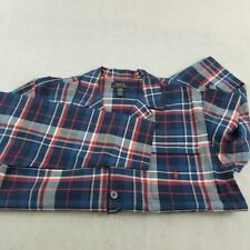 NWT Ralph Lauren Polo Men's Sleepwear Long Sleeve Shirt  Medium Navy