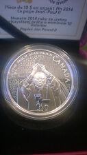 Canada 2014 Fine Silver Coin - Canonization of Pope John Paul II