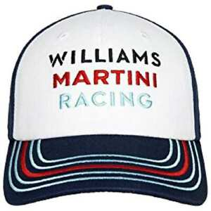 CAP Williams Martini Racing Formula One Team 1 F1 Hackett Sponsor Stripes NEW!